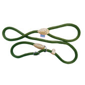 Dog & Co Rope Slip Lead Green 150cm