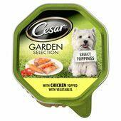 14 x Cesar Garden Selection Select Toppings Chicken & Vegetables 150g