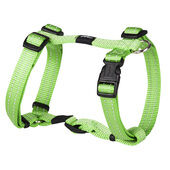 Rogz Snake Reflective Nylon Harness Lime Green 16mm