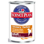 12 x Hill's Science Plan Canine Advanced Fitness Adult Turkey Can 370g