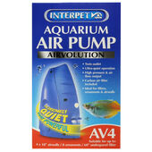 Interpet Aquarium Air Pump Air Volution Av4