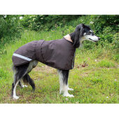 Cosipet Greyhound/Whippet Extreme Waterproof Coat Brown