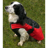 Rosewood All Weather Water Resistant Reflective Red Dog Coat