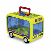 Super Pet CritterTrail Off To School Small Pet Carrier/Cage