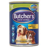 12 x Butcher's Can Tripe & Chicken 400g