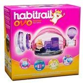 Habitrail OVO Home Hamster Cage Pink Edition