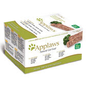 Applaws Cat Pate Multi Pack Chicken Lamb & Salmon 7x100g
