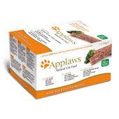 Applaws Cat Pate Multi Pack Turkey Beef & Ocean Fish 7x100g
