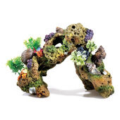 Classic Coral Life Large Lava Rock With Plants & Air 320mm