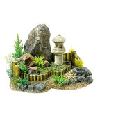 Classic Magic Of The Orient Zen Garden With Plants 210mm