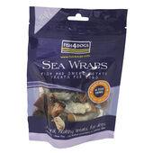 10 x 100g Fish4dogs Sea Wraps Sweet Potato