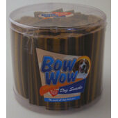 40 x Bow Wow Stripes Smoked Beef 35g