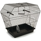 Pennine Tyolean Black Bird Cage With Sliding Tray 55x27x48cm