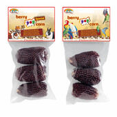 12 x Quiko Bird Pop Corn Berry 100g