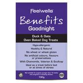 10 x Feelwells Benefits Duck & Oat Treats Goodnight 130g