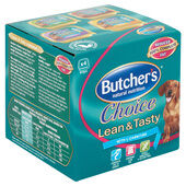 6 x Butcher's Choice Lean & Tasty 4x150g