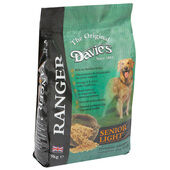 Pets Choice Davies Ranger Senior Light Chicken Dry Dog Food - 9kg