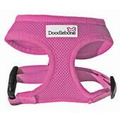 Pink Doodlebone Air Mesh Dog Harness