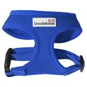 Royal Blue Air Mesh Doodlebone Dog Harness