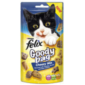 8 x Felix Goody Bag Cheezy Mix 60g