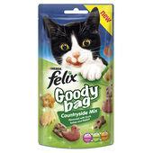 8 x Felix Goody Bag Countryside Mix 60g