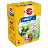 Pedigree Dentastix Fresh Large Dog (+25kg) (4 Boxes)