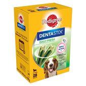 Pedigree Dentastix Daily Fresh Medium Dog (10-25kg) (28 Sticks)