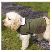 Rosewood Options Green Dog Coat Country Tweed