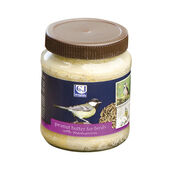 8 x C J Wildlife Peanut Butter For Birds With Mealworms 330g