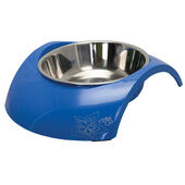 Rogz Stainless Steel Insert Bowl - Luna Blue