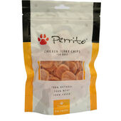 10 x Perrito 100% Chicken Jerky Chips Dog Snacks 100g
