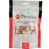 10 x Perrito 100% Chicken & Pollock Sushi Dog Snacks 100g