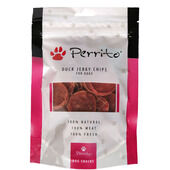 10 x Perrito 100% Duck Breast Chips Dog Snacks 100g