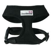Black Doodlebone Air Mesh Dog Harness