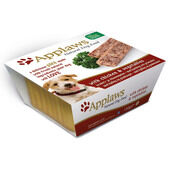 7 x Applaws Dog Pate Alu Tray Chicken With Vegetables 150g
