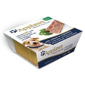 7 x Applaws Dog Pate Alu Tray Salmon With Vegetables 150g