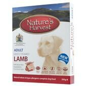 10 x Natures Harvest Adult Lamb 395g