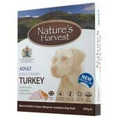 10 x Natures Harvest Adult Turkey 395g