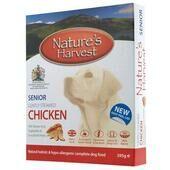 10 x Nature's Harvest Senior Chicken with Brown Rice 395g