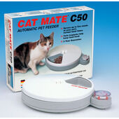 Cat Mate C50 5 Meal Automatic Cat Feeder With 2 Ice Packs & Timer