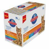 Hill's Science Plan Feline Chunks & Gravy Adult Pouch Multipack 12x85g