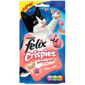 8 x Felix Crispies Salmon & Trout 45g