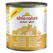 12 x Almo Nature Classic Cat Tuna And Chicken 280g