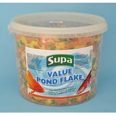 Supa Value Pond Flake Fish Food - 3 Litre