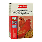 6 x Beaphar Fortified Eggfood Red 150g