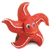 Blue Ribbon Fun & Childrens Bubbling Action Starfish 11x8x11cm