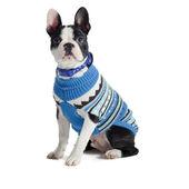 Muddy Paws Alpine Sweater Blue Mix