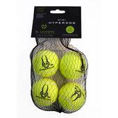 6 x Hyper Pet Tennis Balls Green Mini Pack of 4