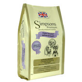 Simpsons Premium Puppy Sensitive Salmon & Potato Dog Food