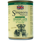 6 x Simpsons Premium Certified Organic Adult Lamb Casserole 400g